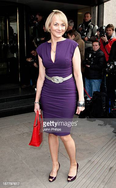 Louise Minchin Arriving For The Television And Radio Industries Club Awards At Grosvenor House Hotel On Park Lane Central London