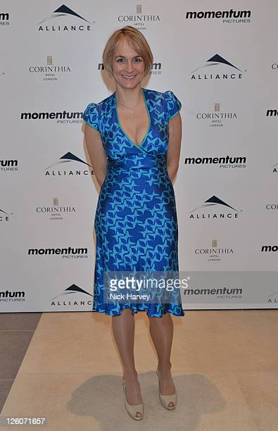 Louise Minchin attends BAFTA nomination lunch hosted by Momentum Pictures at Corinthia Hotel London on February 12 2011 in London England