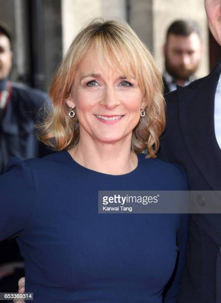 Louise Minchin attends the TRIC Awards 2017 at the Grosvenor House on March 14 2017 in London United Kingdom
