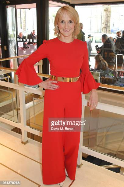 Louise Minchin attends the TRIC Awards 2018 held at The Grosvenor House Hotel on March 13 2018 in London England