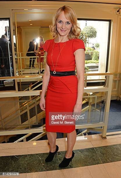 Louise Minchin attends the TRIC Awards at Grosvenor House Hotel at The Grosvenor House Hotel on March 8, 2016 in London, England.