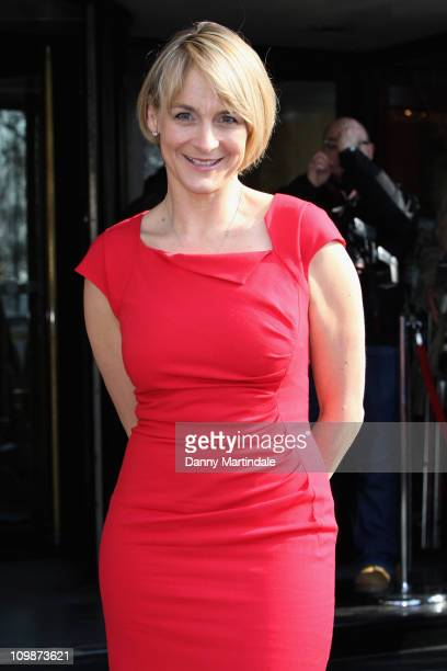 Louise Minchin attends The TRIC Awards at The Grosvenor House Hotel on March 8 2011 in London England