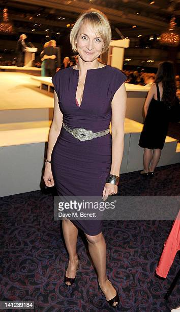 Louise Minchin attends the TRIC Television and Radio Industries Club Awards at The Grosvenor House Hotel on March 13 2012 in London England