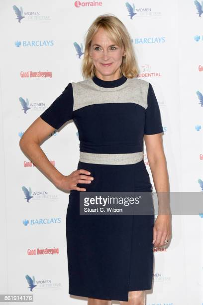 Louise Minchin attends the Woman Of The Year Awards Lunch at Intercontinental Hotel on October 16 2017 in London England