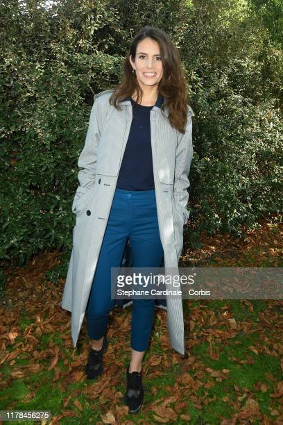 Louise Monot attends the Lacoste Womenswear Spring/Summer 2020 show as part of Paris Fashion Week on October 01 2019 in Paris France