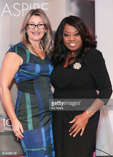Louise Newsome and Star Jones attend the NAPW Power Networking Event at Midtown Loft Terrace on October 26 2016 in New York City