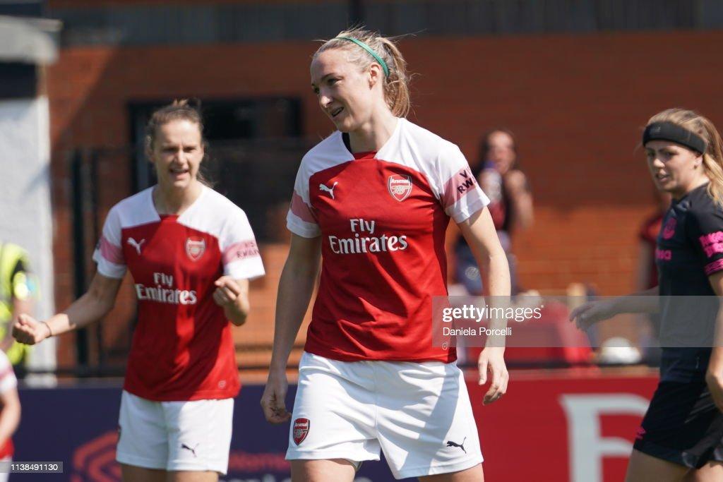 GBR: Arsenal v Everton Ladies - FA WSL