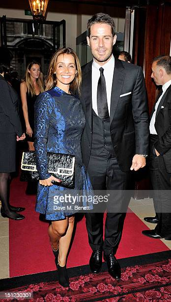 Louise Redknapp and Jamie Redknapp arrive at the GQ Men Of The Year Awards 2012 at The Royal Opera House on September 4 2012 in London England