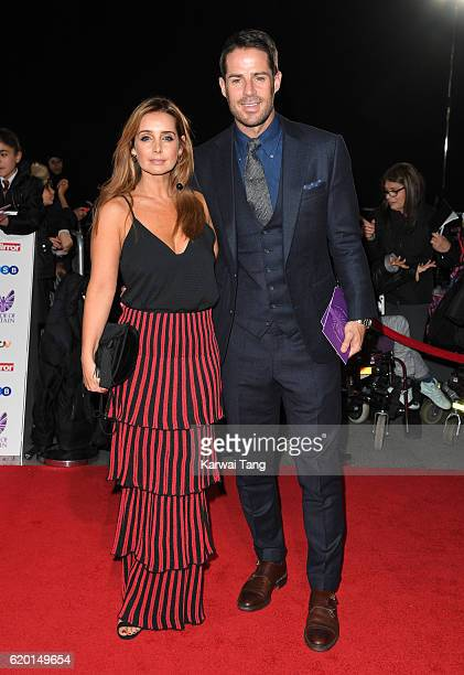 Louise Redknapp and Jamie Redknapp attend the Pride Of Britain Awards at The Grosvenor House Hotel on October 31 2016 in London England