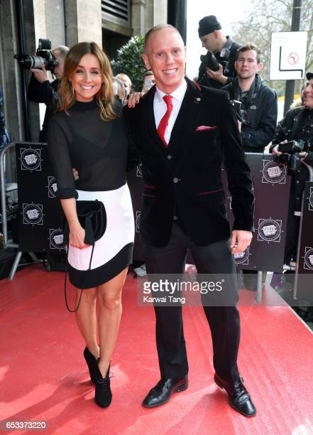 Louise Redknapp and Robert Rinder attend the TRIC Awards 2017 at the Grosvenor House on March 14 2017 in London United Kingdom