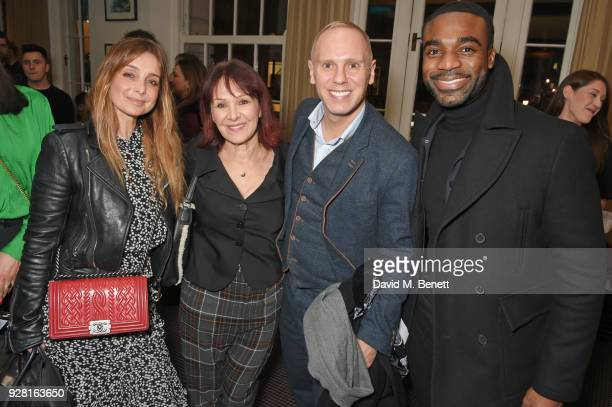 Louise Redknapp Arlene Phillips Robert Rinder and Ore Oduba attend the launch of InterTalent Rights Group at BAFTA on March 6 2018 in London England