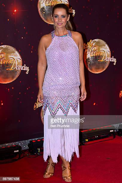 Louise Redknapp arrives for the launch of 'Strictly Come Dancing 2016' at Elstree Studios on August 30 2016 in Borehamwood England