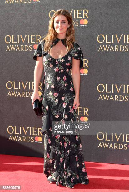 Louise Redknapp arrives for The Olivier Awards 2017 at the Royal Albert Hall on April 9 2017 in London England