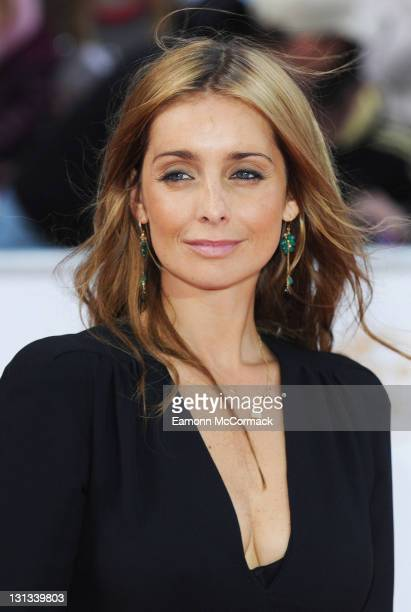 Louise Redknapp arrives on the red carpet for The Philips British Academy Television Awards at Grosvenor House on May 22 2011 in London England