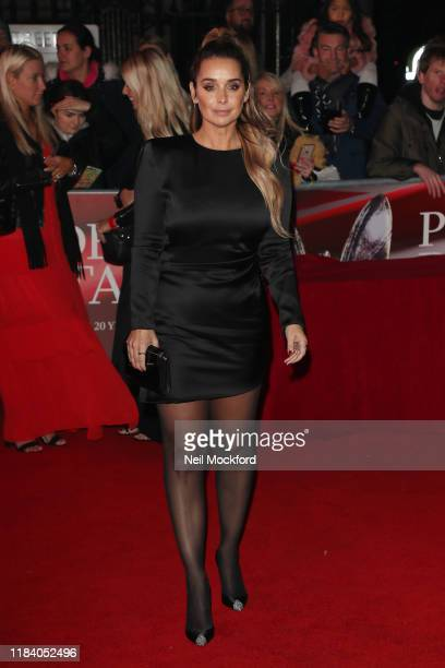 Louise Redknapp arrives on the red carpet of Pride of Britain 2019 at Grosvenor House Hotel on October 28 2019 in London England