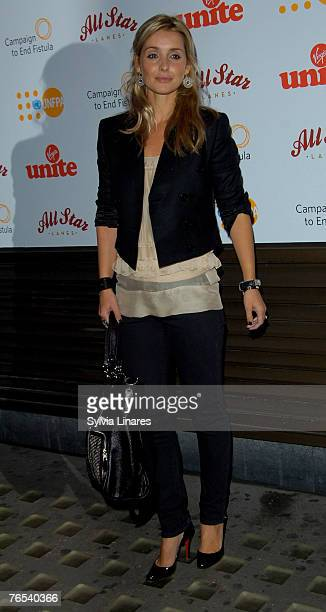 Louise Redknapp at the Virgin Unite Campaign to End Fistula Celebrity Bowl Off September 5, 2007 at All Star Lanes in London, England.