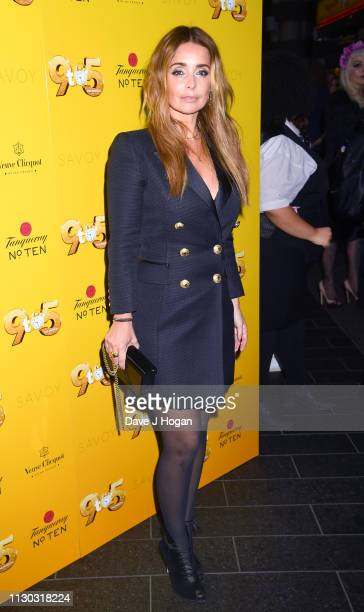 Louise Redknapp attends 9 To 5 The Musical at The Savoy Theatre on February 17 2019 in London England