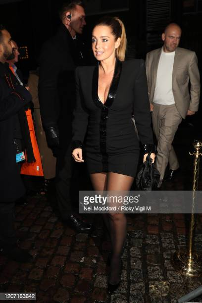 Louise Redknapp attends a Warner Records BRIT Awards 2020 after party at Chiltern Firehouse on February 18 2020 in London England