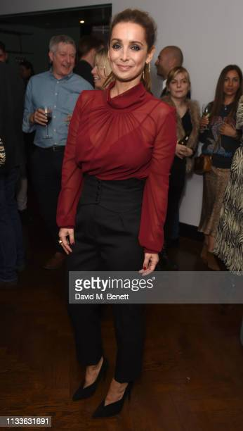 Louise Redknapp attends an after party to celebrate Louise Redknapp rejoining the cast of 9 To 5 The Musical at The Hospital Club on March 29 2019 in...