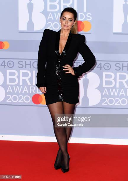 Louise Redknapp attends The BRIT Awards 2020 at The O2 Arena on February 18 2020 in London England