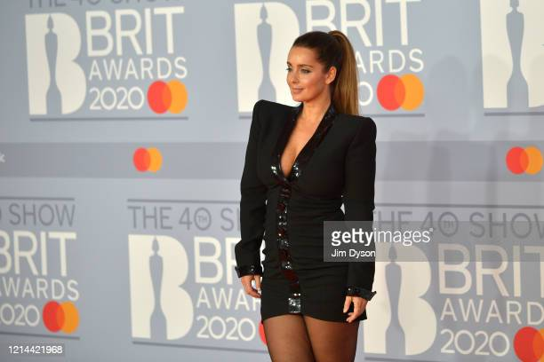 Louise Redknapp attends The BRIT Awards 2020 at The O2 Arena on February 18, 2020 in London, England.