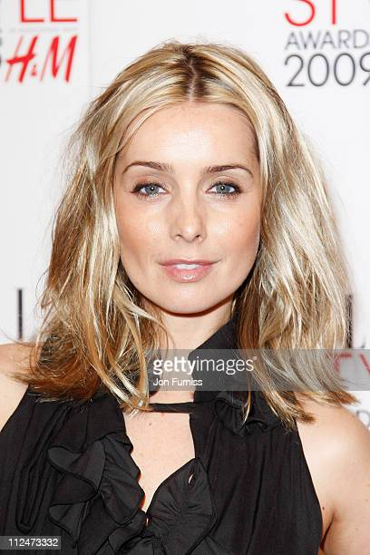 Louise Redknapp attends the ELLE Style Awards 2009 held at Big Sky London Studios on February 9 2009 in London England