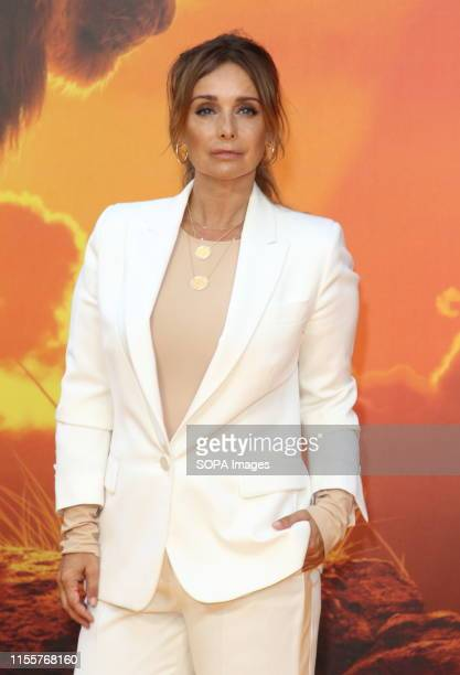 Louise Redknapp attends the European Premiere of Disney's The Lion King at the Odeon Luxe cinema Leicester Square in London