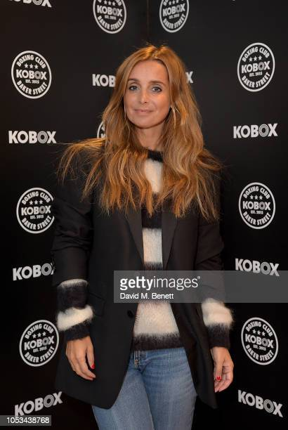Louise Redknapp attends the KOBOX Baker Street studio launch on October 25 2018 in London England