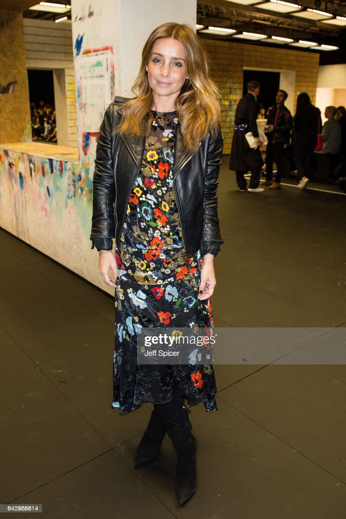 Louise Redknapp attends the Preen by Thornton Bregazzi show during the London Fashion Week February 2017 collections on February 19, 2017 in London, England.