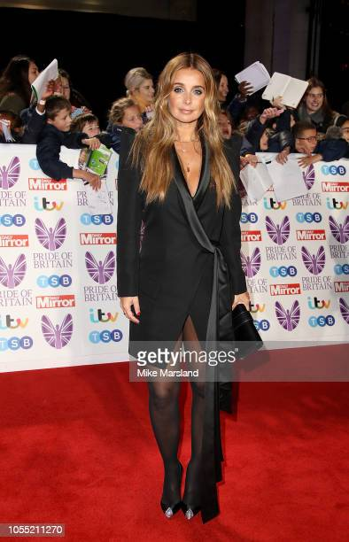 Louise Redknapp attends the Pride of Britain Awards 2018 at The Grosvenor House Hotel on October 29 2018 in London England