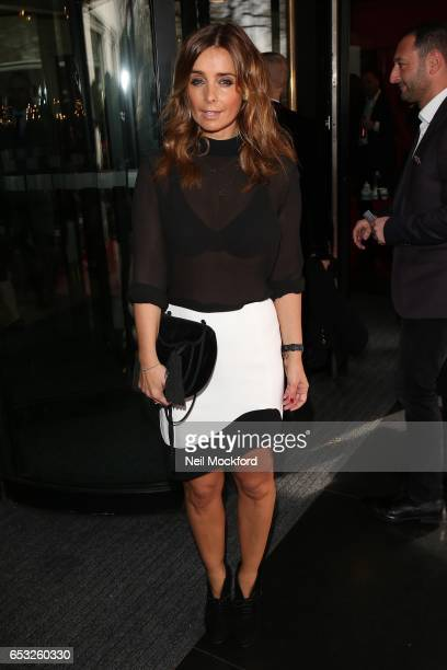 Louise Redknapp attends the TRIC Awards 2017 on March 14 2017 in London United Kingdom