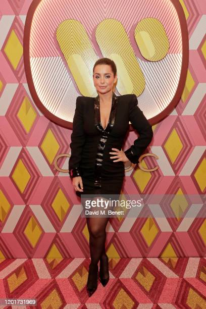 Louise Redknapp attends the Warner Music CIROC BRIT Awards house party in association with GQ at The Chiltern Firehouse on February 18 2020 in London...