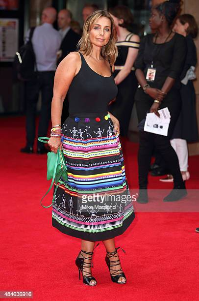 Louise Redknapp attends the World Premiere of 'The Bad Education Movie' at Vue West End on August 20 2015 in London England