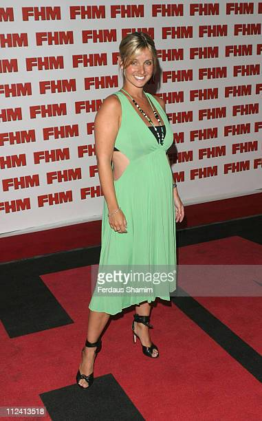 Louise Redknapp during FHM Top 100 Sexiest Women 2004 at Guild Hall in London Great Britain