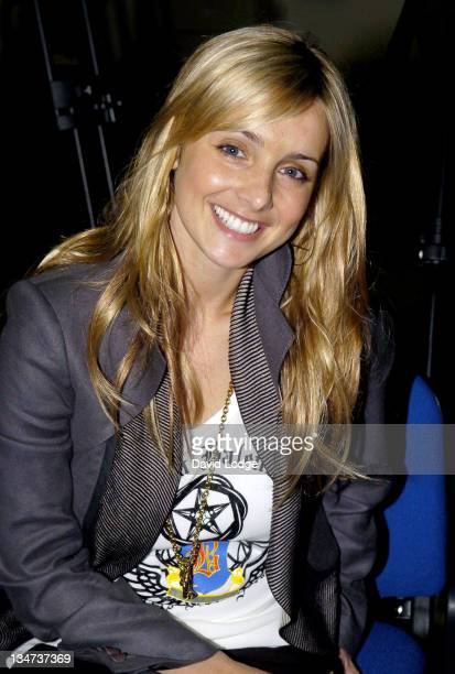 Louise Redknapp during The Interactive Hand Held Football Game 'Match Master' Launch April 24 2006 at Stamford Bridge in London Great Britain