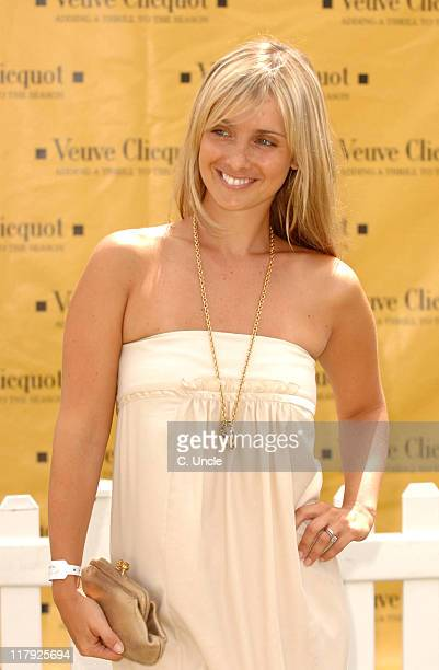Louise Redknapp during The Veuve Clicquot Gold Cup July 23 2006 at Cowdray Park in Midhurst West Sussex United Kingdom