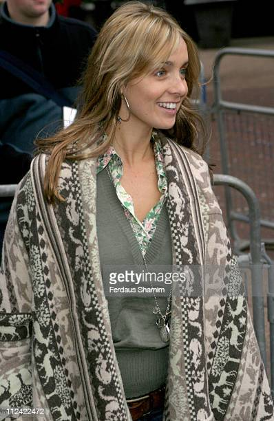 Louise Redknapp during UK Radio Aid to Benefit Victims of the Asian Tsunami - Outside Arrivals at Capital Radio in London, United Kingdom.