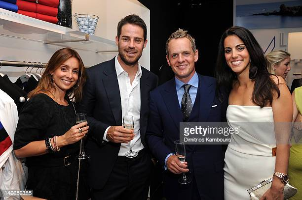 Louise Redknapp Jamie Redknapp Luke Donald and Diane Antonopoulos attend Ralph Lauren's launch of The RLX Golf Shop with Luke Donald at Ralph Lauren...