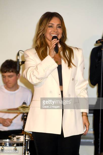 Louise Redknapp performs during the Gatsby Gala 2020 at Bloomsbury Ballroom on January 30 2020 in London England
