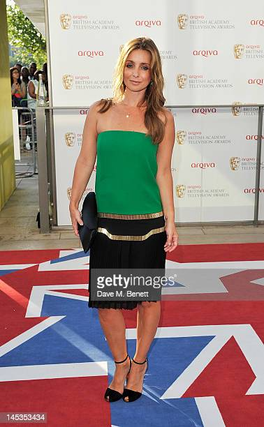 Louise Redknappe arrives at the Arqiva British Academy Television Awards 2012 at Royal Festival Hall on May 27 2012 in London England