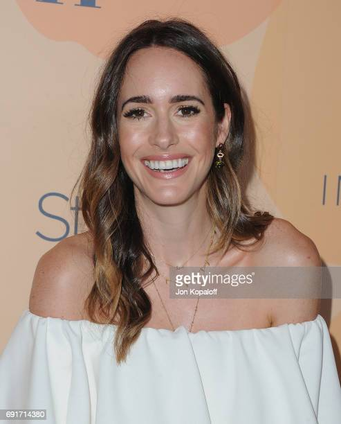 Louise Roe arrives at the 14th Annual Inspiration Awards at The Beverly Hilton Hotel on June 2 2017 in Beverly Hills California