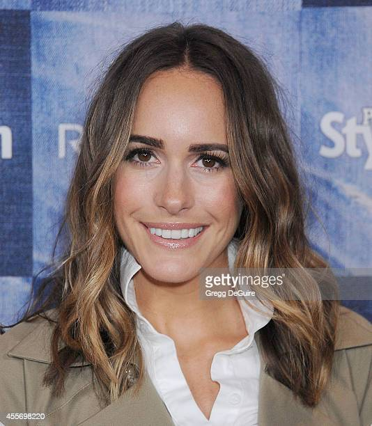 Louise Roe arrives at the People StyleWatch 4th Annual Denim Awards Issue at The Line on September 18, 2014 in Los Angeles, California.