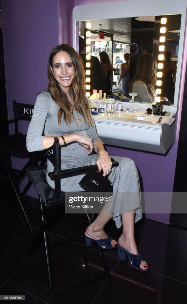 Louise Roe attends Louise Roe For Kiko Milano At Kiko Milano Hollywood Venue on October 14, 2017 in Hollywood, California.