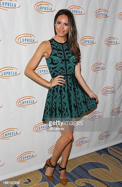 Louise Roe attends the 11th Annual Lupus LA Hollywood Bag Ladies Luncheon at Regent Beverly Wilshire Hotel on November 15 2013 in Beverly Hills...
