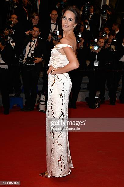 Louise Roe attends the Captives premiere during the 67th Annual Cannes Film Festival on May 16 2014 in Cannes France