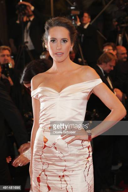"""Louise Roe attends the """"Captives"""" premiere during the 67th Annual Cannes Film Festival on May 16, 2014 in Cannes, France."""