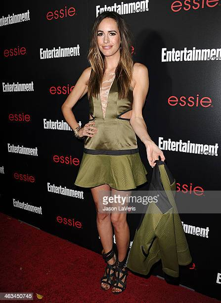 Louise Roe attends the Entertainment Weekly SAG Awards preparty at Chateau Marmont on January 17 2014 in Los Angeles California