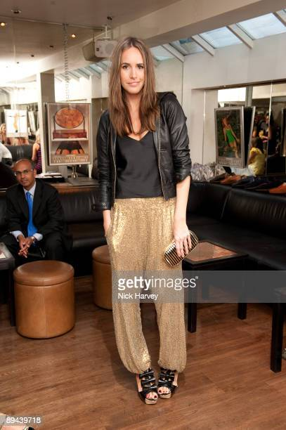 Louise Roe attends the launch of online footwear label Fin's at Tini on June 24, 2009 in London, England.