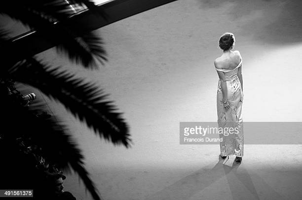 """Louise Roe attends the Premiere of """"Captives"""" at the 67th Annual Cannes Film Festival on May 16, 2014 in Cannes, France."""