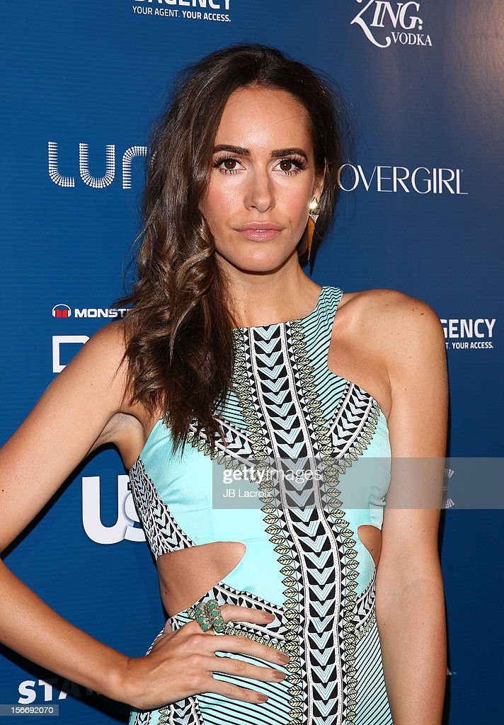 Louise Roe attends the US Weekly Magazine's Music Party With Performance By The Wanted at Lure on November 18, 2012 in Hollywood, California.